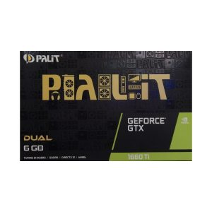 Palit GeForce GTX 1660 Ti Dual 6GB DDR6